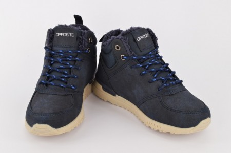 Postavljene dečije duboke cipele CH86151-P teget