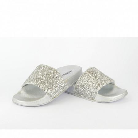 Dečije papuče CP020361SB srebrne