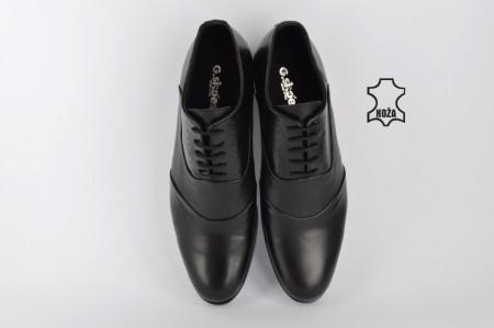 Kožne elegantne muške cipele 435 crne