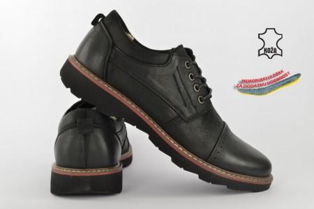 Kožne muške cipele 5582 crne