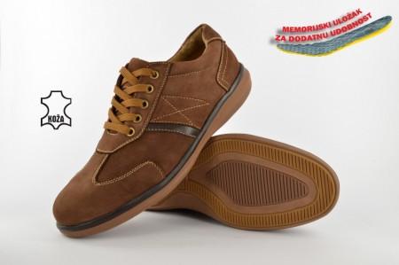 Kožne muške cipele C14-5569 braon