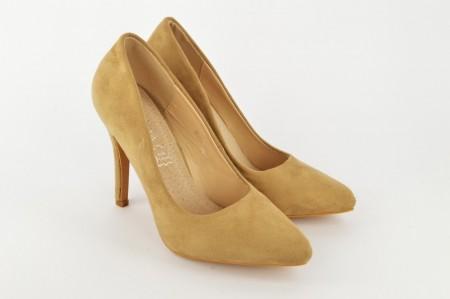 Ženske cipele na štiklu - Salonke D023-B bež