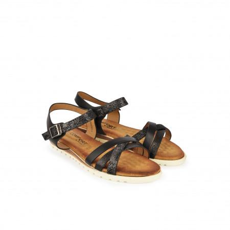 Ženske sandale LS020331-1CR crne