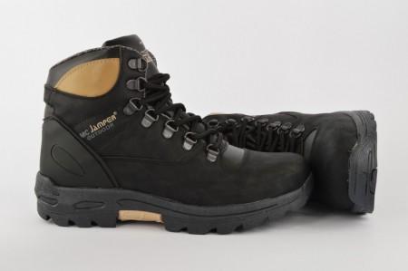 Dečije duboke cipele 1640-D crne