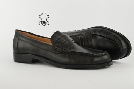 Kožne muške cipele 039 crne