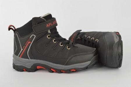 Postavljene dečije duboke cipele C51-1 crne
