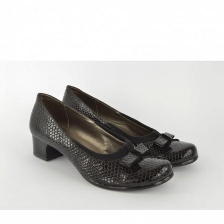 Ženske cipele na štiklu 333CR crne