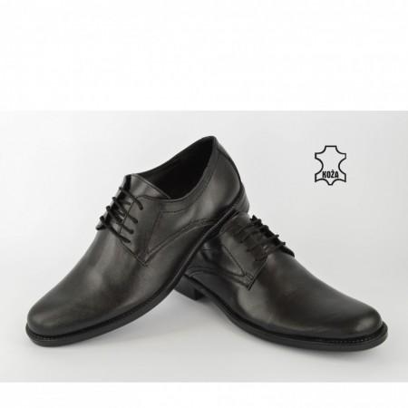 Kožne muške cipele 418CR crne