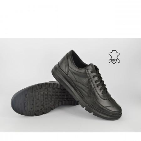 Kožne muške cipele 867CR crne