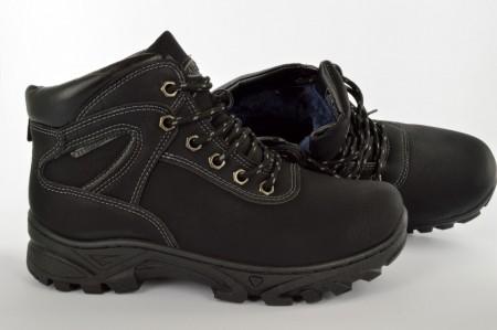 Postavljene dečije duboke cipele 12922 crne