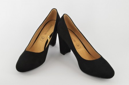 Ženske cipele na štiklu L85302 crne