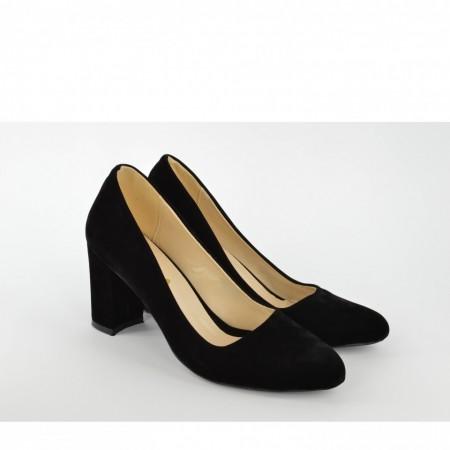 Ženske cipele na štiklu - Salonke S2008 crne