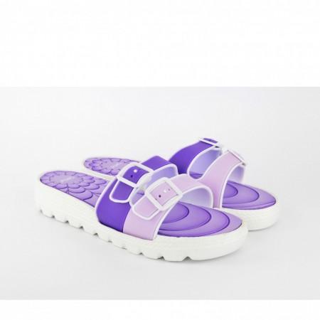 Ženske papuče E231-LJ ljubičaste