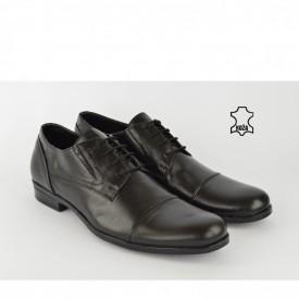 Kožne muške cipele 452CR crne