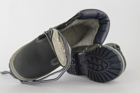 Dečije duboke cipele - Kanadjanke BEST2 sive