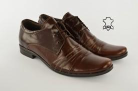 Kožne elegantne muške cipele 450 braon