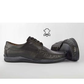 Kožne muške cipele 7016CR crne