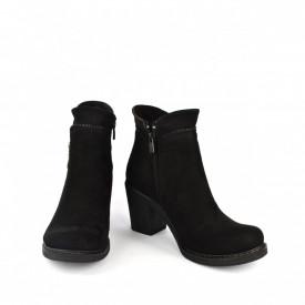 Kratke čizme na štiklu 2251CR crne