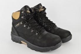 Muške duboke cipele 1640 crne