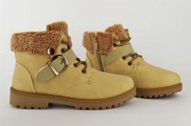 Postavljene dečije duboke cipele ZJY-B55 bež