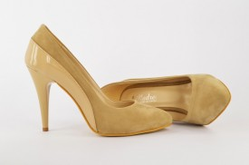 Ženske cipele na štiklu - Salonke 1521-B bež