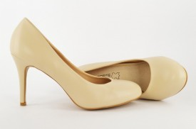 Ženske cipele na štiklu - Salonke L31630 bež