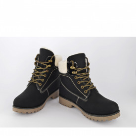 Ženske duboke cipele - Kanadjanke LH51092CR crne