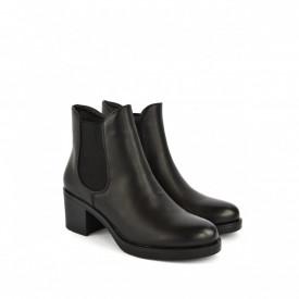 Ženske duboke cipele na štiklu LH050413CR crne