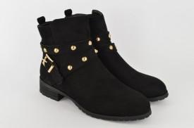 Ženske duboke cipele WSB10023 crne