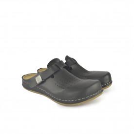 Ženske papuče - Klompe 154063-1CR crne