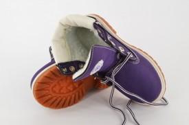Dečije duboke cipele - Kanadjanke C109P ljubičaste