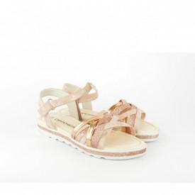Dečije sandale CS020215ZT zlatne
