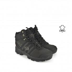 Kožne muške duboke cipele 35986DCR crne