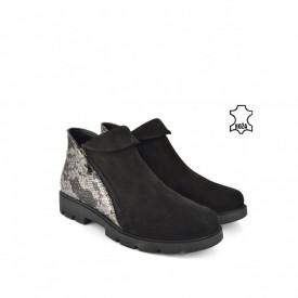 Kožne ženske cipele H20K4339CR crne