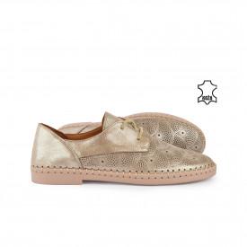 Kožne ženske cipele H21Y5356SM šampanj