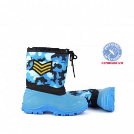 NEPROMOČIVE dečije čizme 00494PL plave