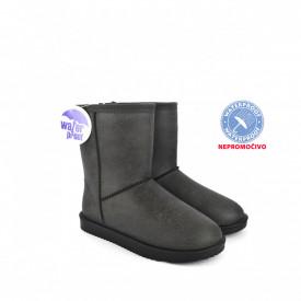 NEPROMOČIVE ženske duboke čizme LH086655SV sive