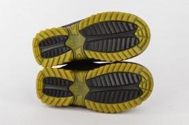 Postavljene dečije čizme B1018-D crne