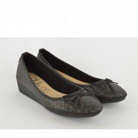 Ženske cipele na platformu L7234 crne