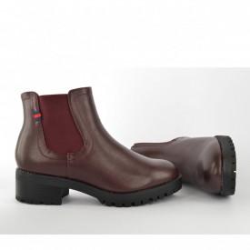Ženske duboke cipele na štiklu LH95000BD bordo