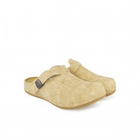 Ženske papuče - Klompe 154063BE bež
