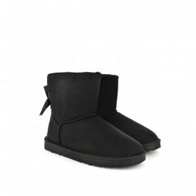 Ženske poluduboke čizme - Šunjalice LH035670-3CR crne