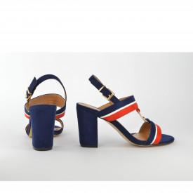 Ženske sandale na štiklu LS021600TT teget