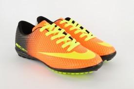 Dečije patike za fudbal D401-N narandžaste