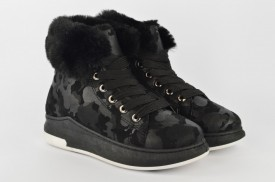 Duboke ženske duboke cipele LH85382 crne