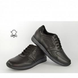 Kožne muške cipele 1143 crne