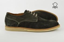 Kožne muške cipele 608 sive