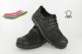 Kožne muške cipele 7506 crne