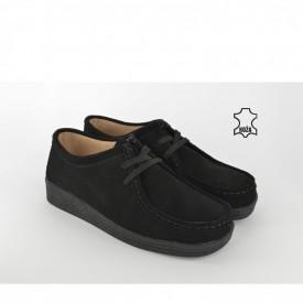 Kožne ženske cipele 1120 crne