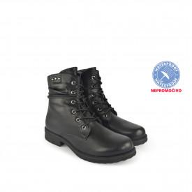 NEPROMOČIVE ženske duboke cipele 18AW1229CR crne